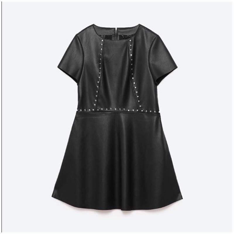 Zara studded faux dress